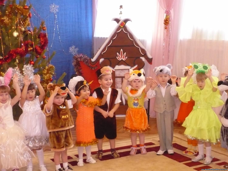 Сценарий новый год в детском саду 3 4 года
